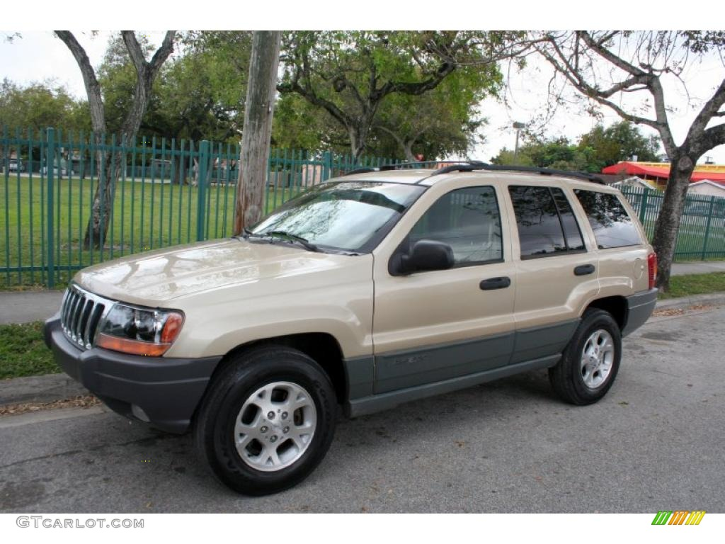 champagne pearlcoat 2000 jeep grand cherokee laredo 4x4 exterior photo. Cars Review. Best American Auto & Cars Review