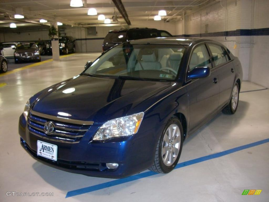 2005 indigo ink blue pearl toyota avalon xls 45770415. Black Bedroom Furniture Sets. Home Design Ideas