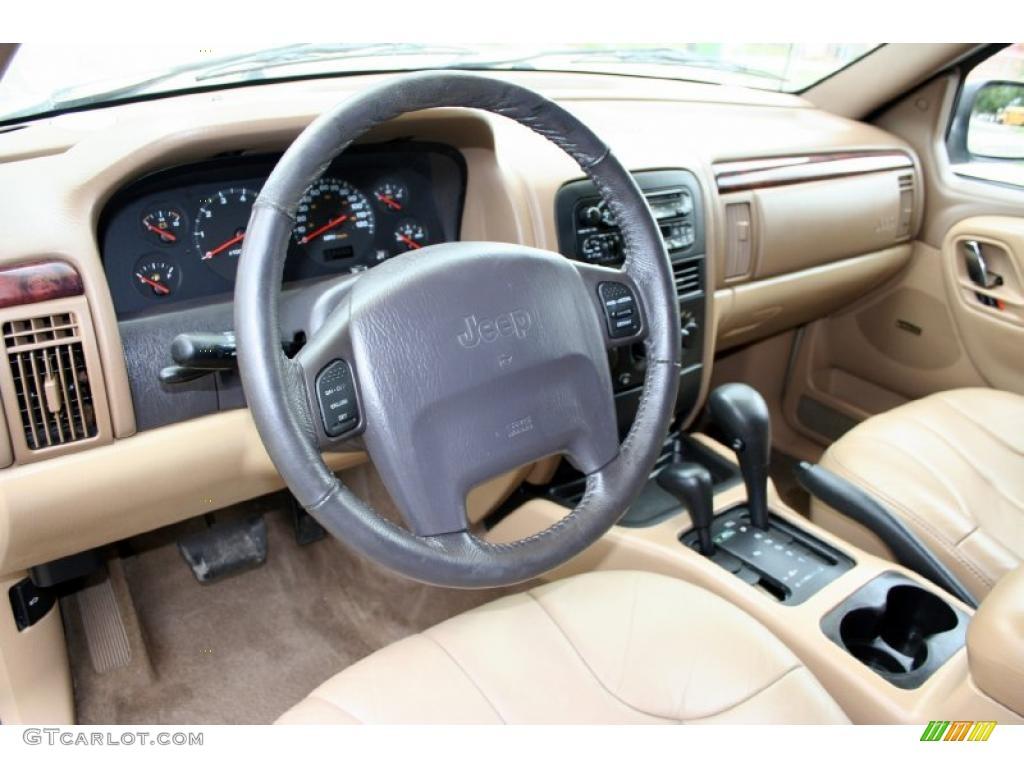 Camel interior 2000 jeep grand cherokee laredo 4x4 photo for Interieur jeep grand cherokee 2000