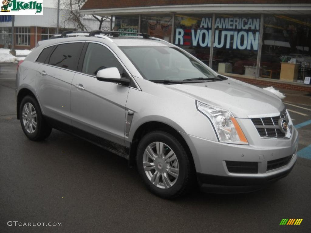 2011 Radiant Silver Metallic Cadillac Srx 4 V6 Awd 45770407 Car Color Galleries