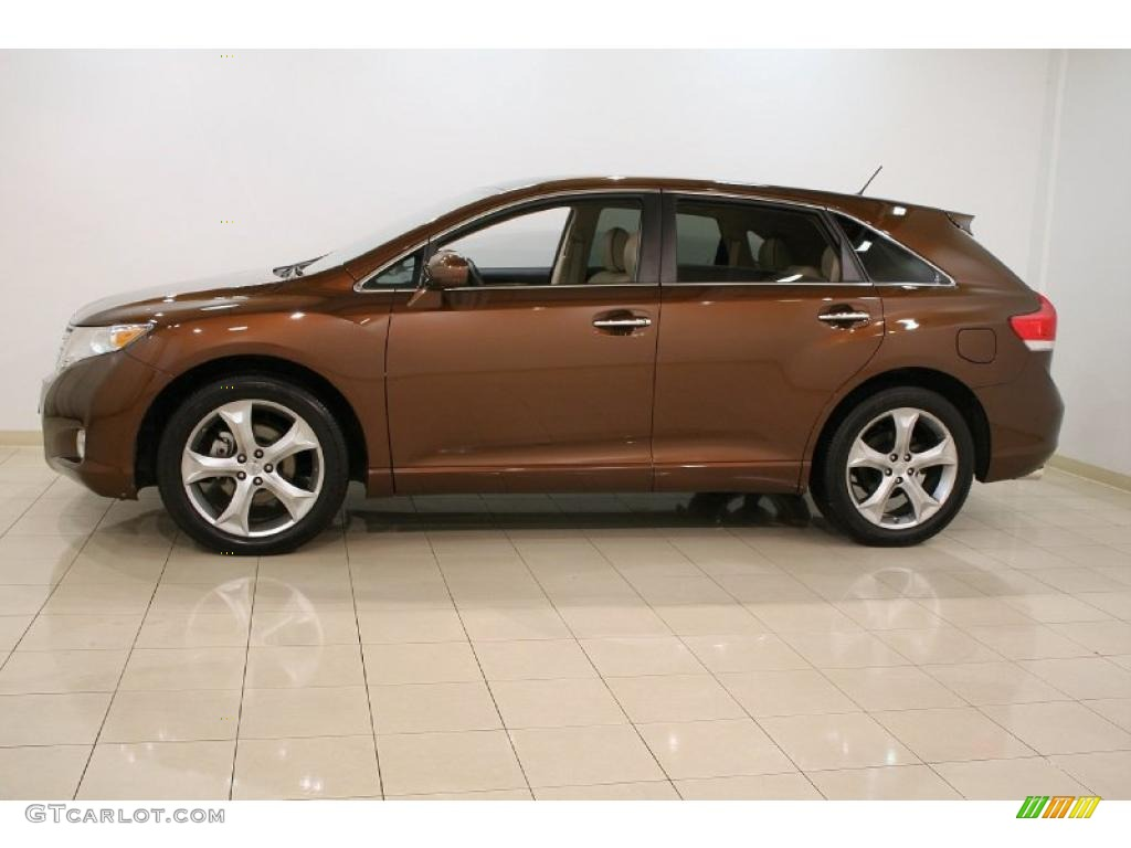 Sunset Bronze Mica 2010 Toyota Venza V6 AWD Exterior Photo #45930949 ...