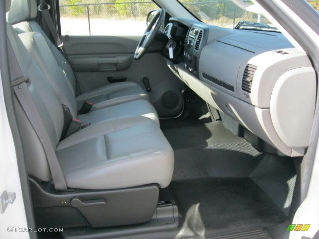 2008 Chevrolet Silverado 1500 Work Truck Regular Cab Interior Photo  #45931399