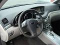 2009 Subaru Tribeca Slate Gray Interior Dashboard Photo