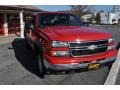 2006 Victory Red Chevrolet Silverado 1500 Z71 Extended Cab 4x4  photo #4