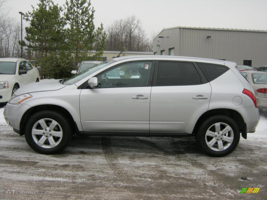 2007 Murano S AWD - Brilliant Silver Metallic / Charcoal photo #14