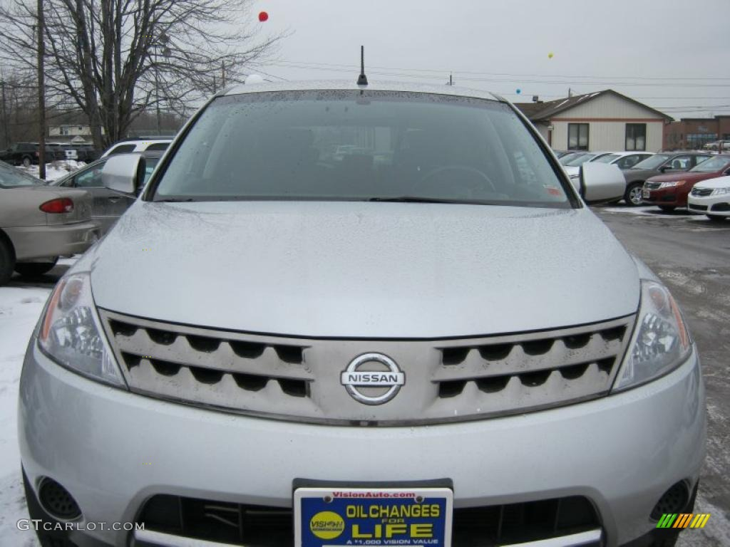 2007 Murano S AWD - Brilliant Silver Metallic / Charcoal photo #18