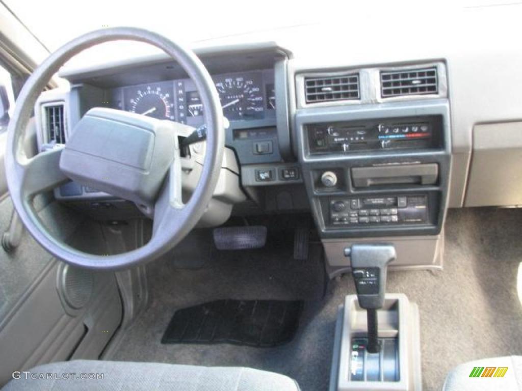 2013 Nissan Pathfinder Specs 1992 Nissan Pathfinder XE Beige Dashboard Photo #45941064 ...