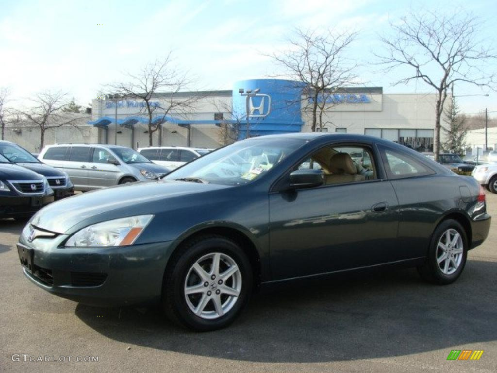 2004 deep green pearl honda accord ex v6 coupe 45771131 car color galleries. Black Bedroom Furniture Sets. Home Design Ideas