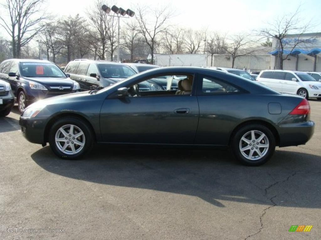2004 deep green pearl honda accord ex v6 coupe 45771131. Black Bedroom Furniture Sets. Home Design Ideas