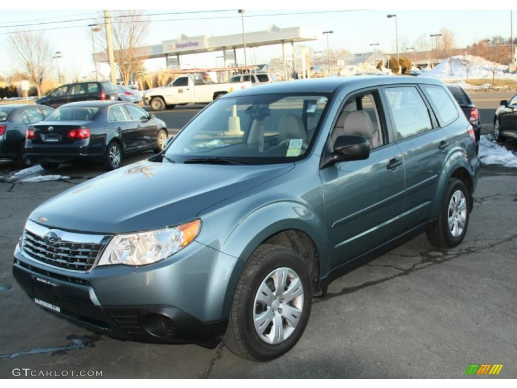 2009 Sage Green Metallic Subaru Forester 2 5 X 45876007