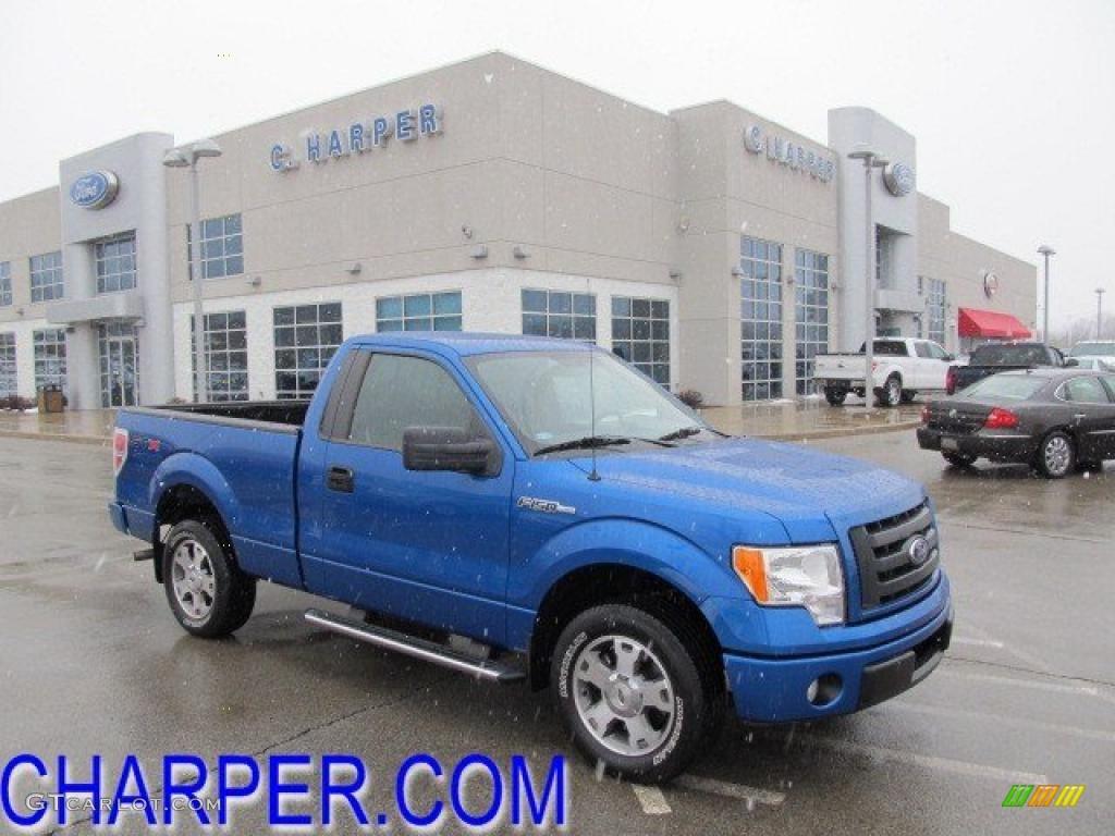 2010 blue flame metallic ford f150 stx regular cab 45876052 car color galleries. Black Bedroom Furniture Sets. Home Design Ideas