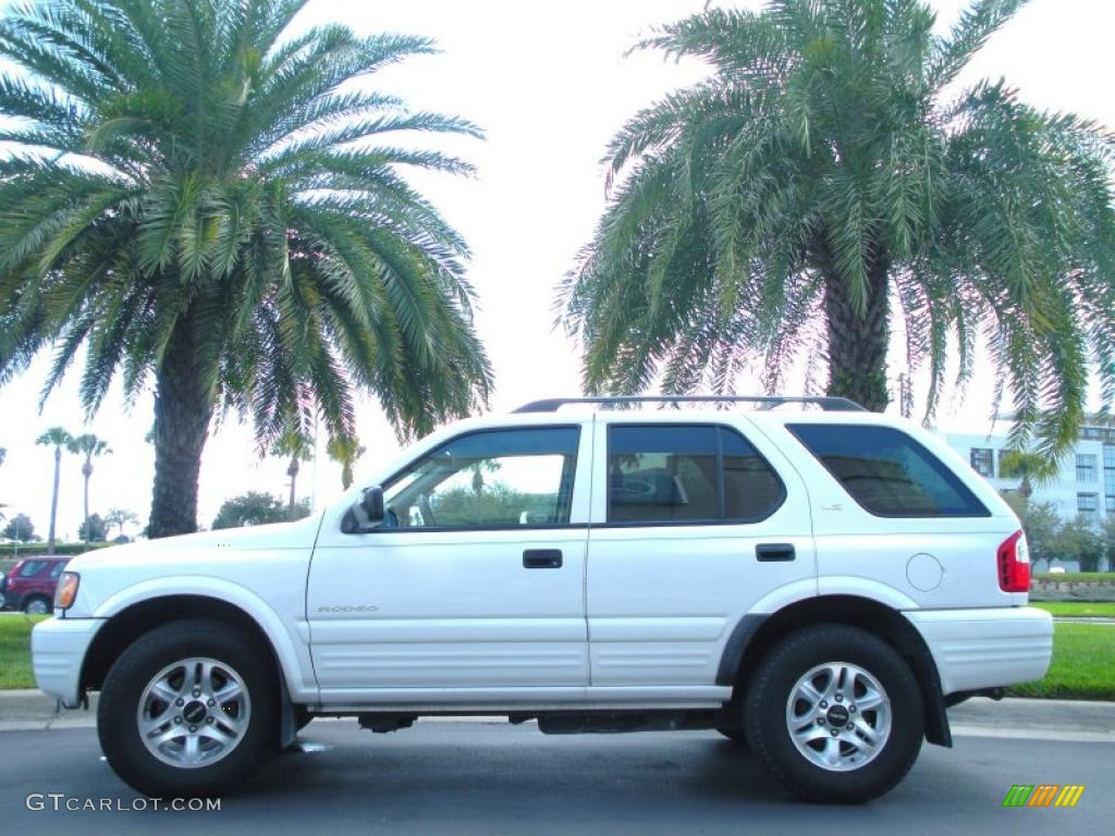 alpine white 2002 isuzu rodeo ls exterior photo 45950238. Black Bedroom Furniture Sets. Home Design Ideas