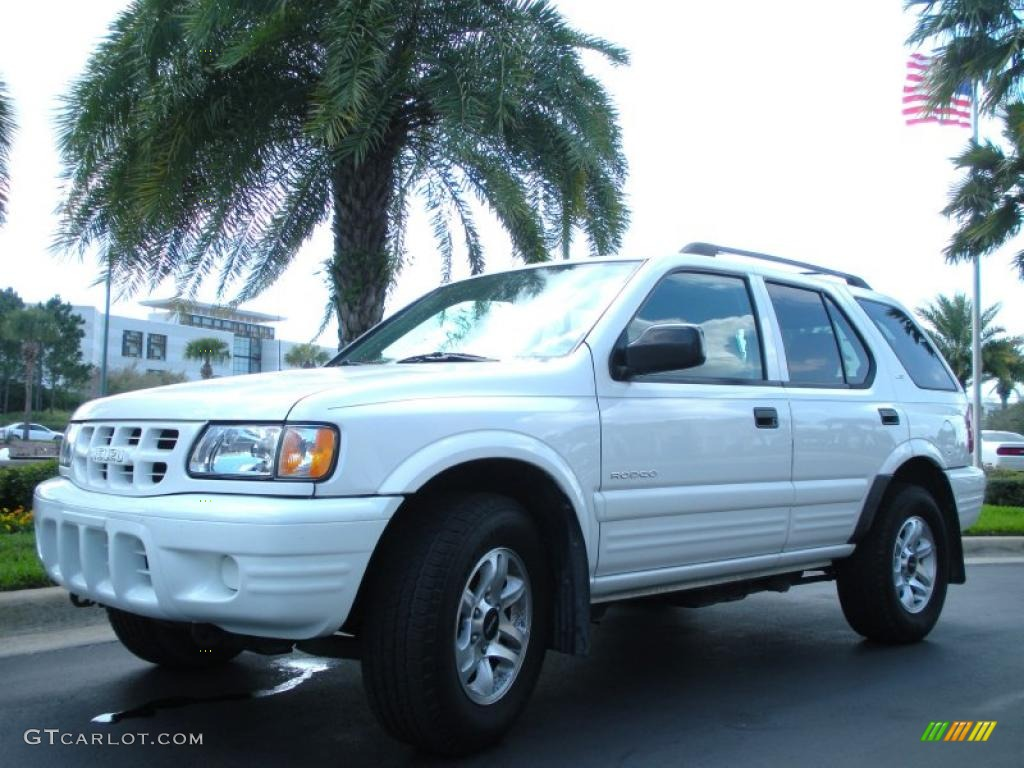 alpine white 2002 isuzu rodeo ls exterior photo 45950247. Black Bedroom Furniture Sets. Home Design Ideas