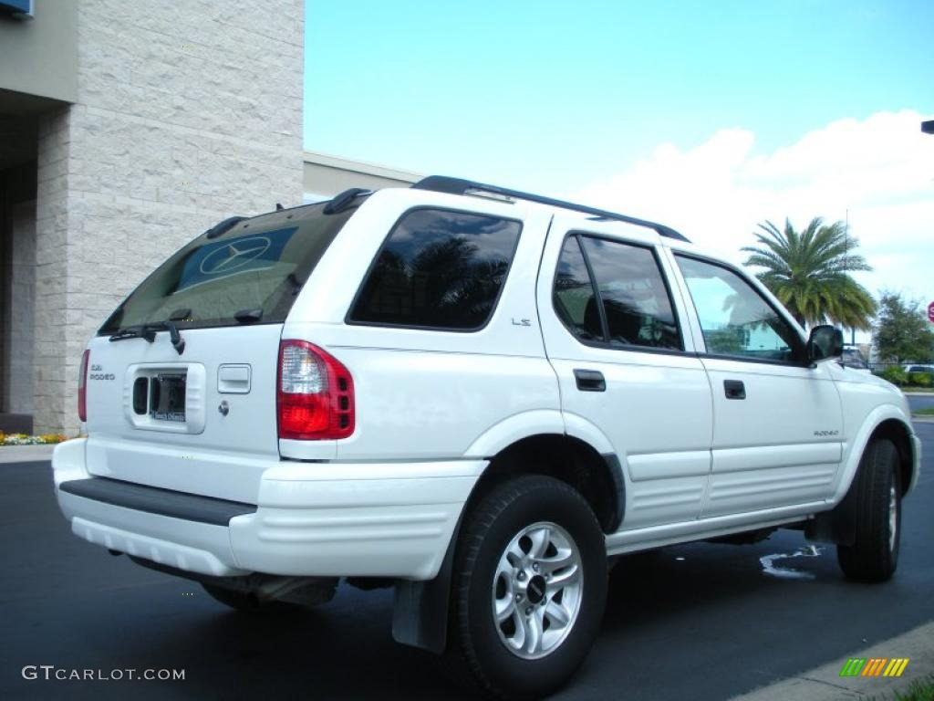 alpine white 2002 isuzu rodeo ls exterior photo 45950283. Black Bedroom Furniture Sets. Home Design Ideas