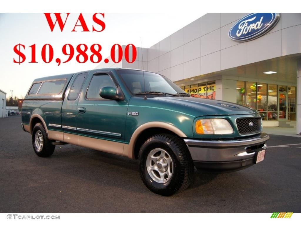 1997 pacific green metallic ford f150 lariat extended cab. Black Bedroom Furniture Sets. Home Design Ideas