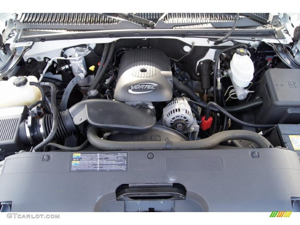 2005 chevrolet silverado 2500hd lt crew cab 6 0 liter ohv 16 valve vortec v8 engine photo. Black Bedroom Furniture Sets. Home Design Ideas