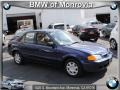 Midnight Blue Mica 2000 Mazda Protege DX