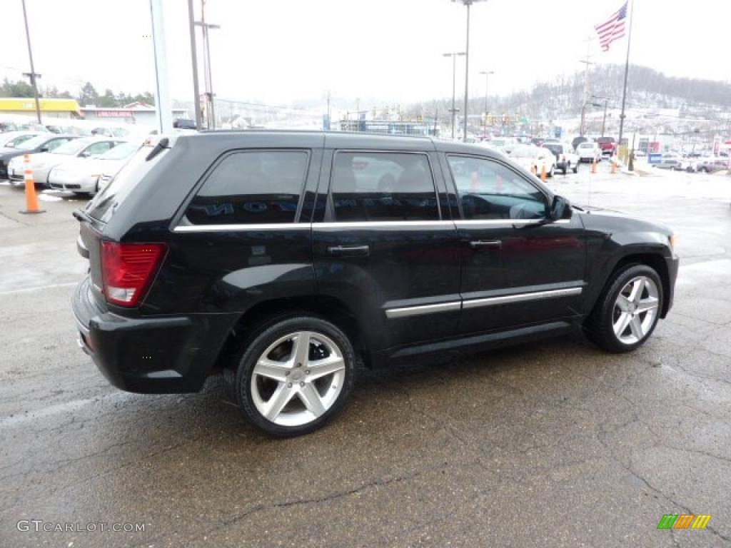 black 2007 jeep grand cherokee srt8 4x4 exterior photo 45973167. Cars Review. Best American Auto & Cars Review