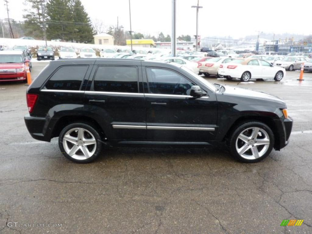 black 2007 jeep grand cherokee srt8 4x4 exterior photo 45973187. Cars Review. Best American Auto & Cars Review