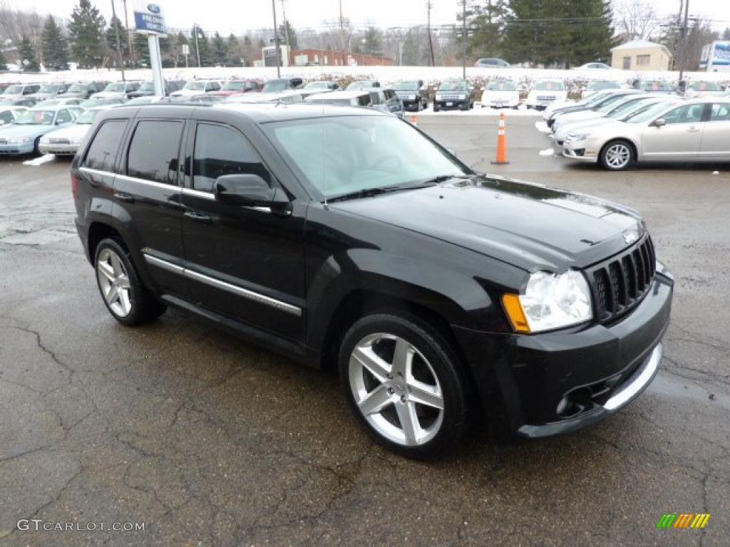 Black 2007 Jeep Grand Cherokee Srt8 4x4 Exterior Photo 45973214 Gtcarlot Com