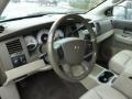 Dark Khaki/Light Graystone 2005 Dodge Durango Interiors