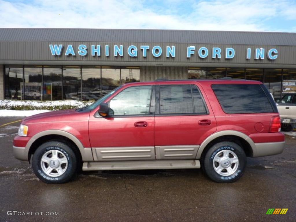 2004 Redfire Metallic Ford Expedition Eddie Bauer 4x4 45876751 Car Color Galleries