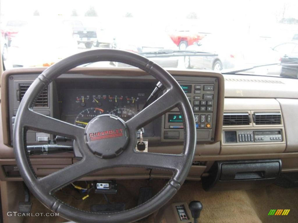 1994 chevrolet c k k1500 regular cab 4x4 beige dashboard photo