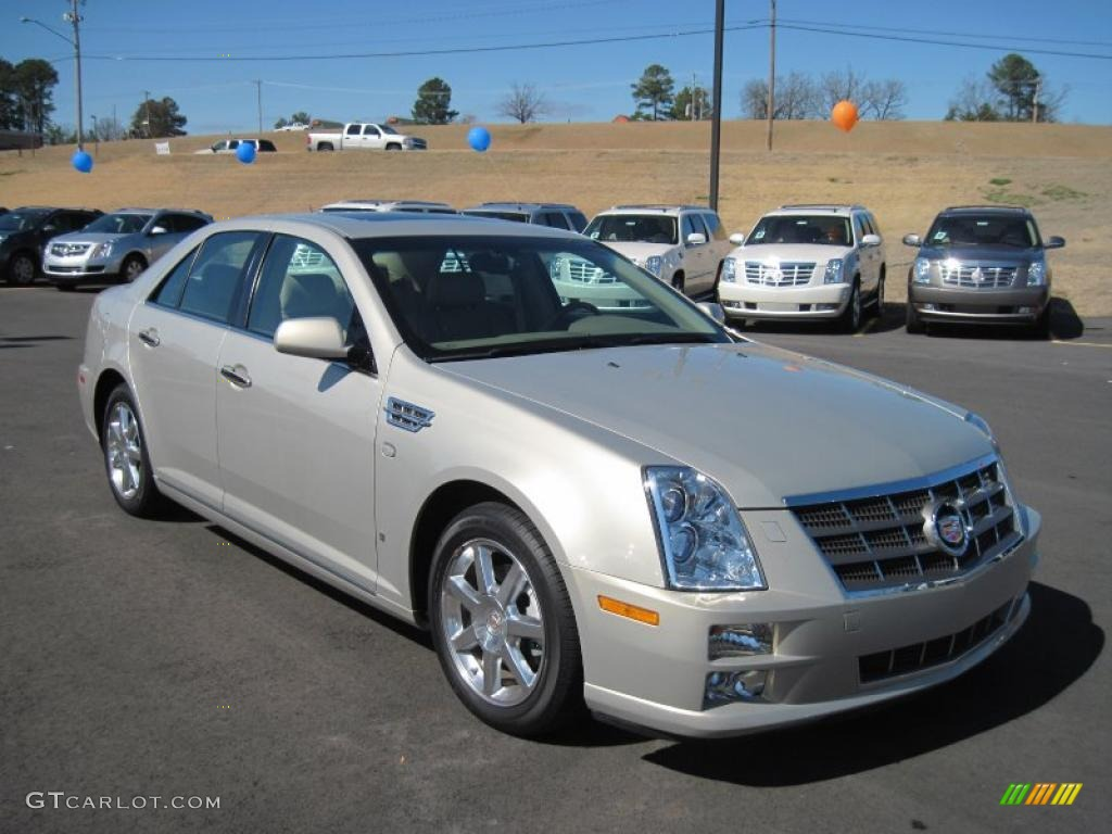 gold mist 2008 cadillac sts v8 exterior photo 45975596. Black Bedroom Furniture Sets. Home Design Ideas