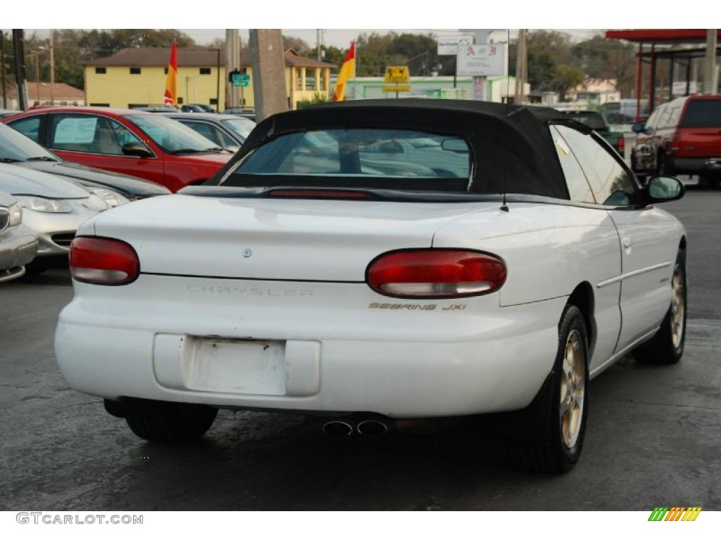 bright white 1997 chrysler sebring jxi convertible. Cars Review. Best American Auto & Cars Review