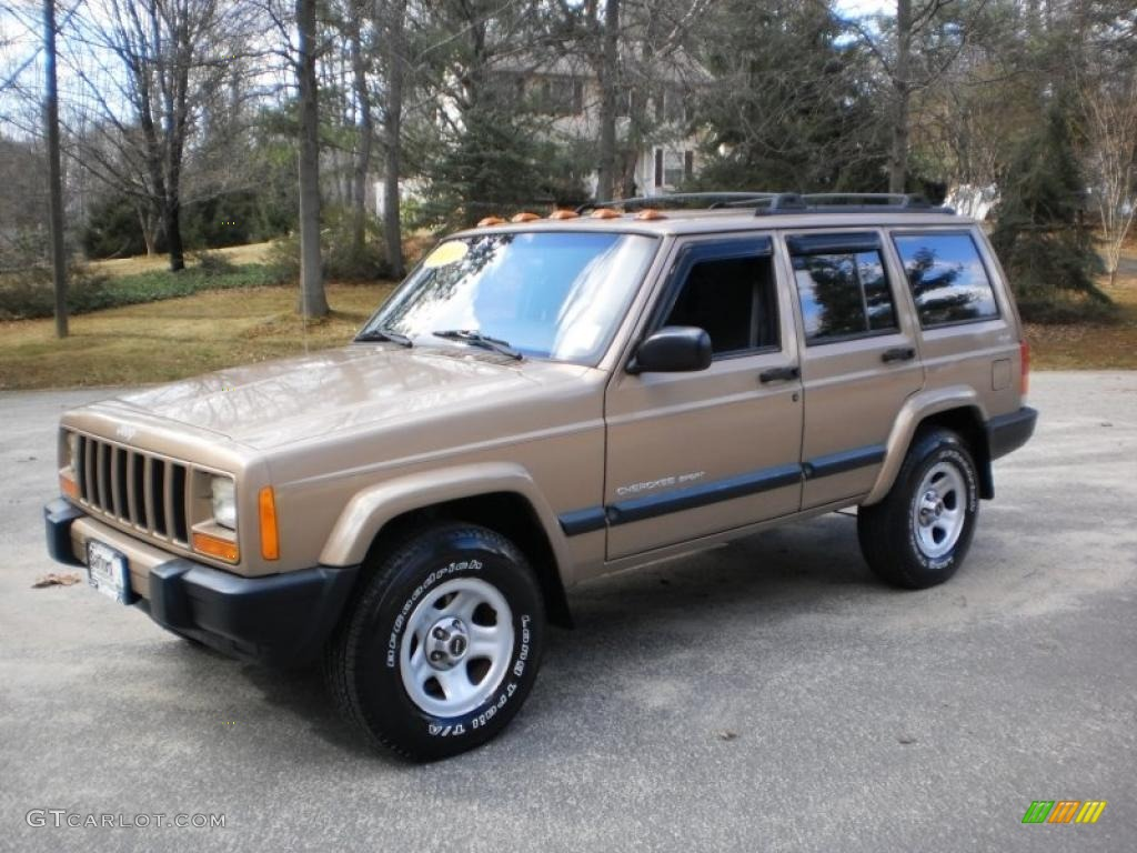 2000 jeep cherokee sport 4x4 desert sand pearl color agate black. Cars Review. Best American Auto & Cars Review