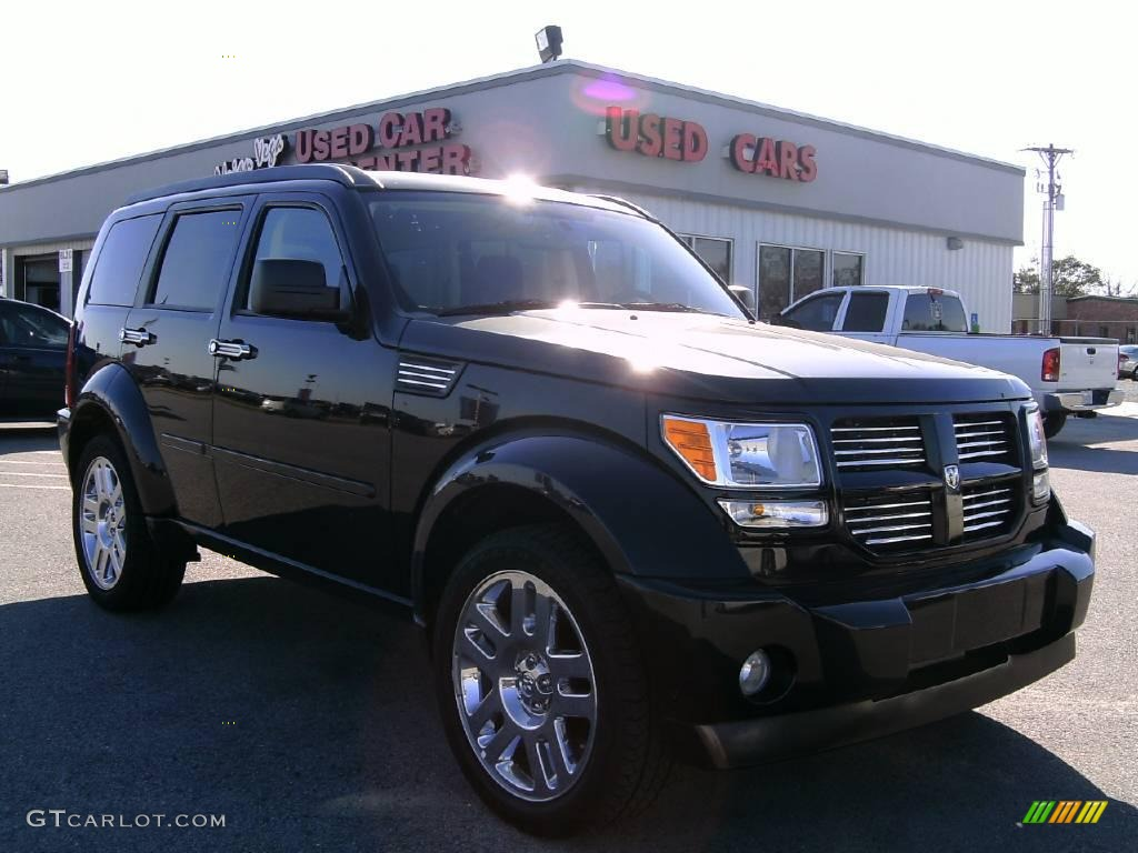 2008 brilliant black crystal pearl dodge nitro r t. Black Bedroom Furniture Sets. Home Design Ideas