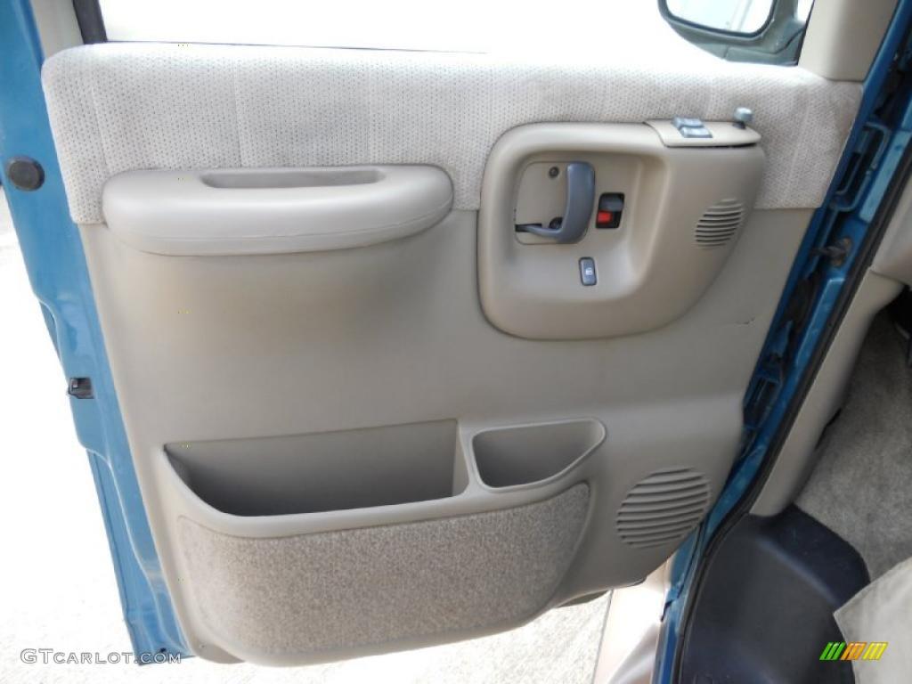 1999 Chevrolet Express 1500 Passenger Conversion Van Neutral Door Panel Photo 45997592