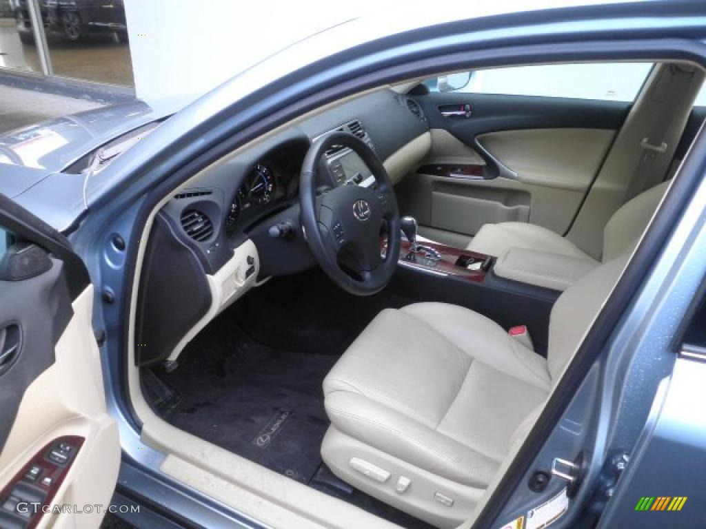 cashmere beige interior 2008 lexus is 350 photo 45999680