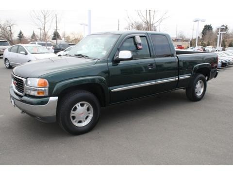 2001 GMC Sierra 1500 SLE Extended Cab 4x4 Data, Info and Specs