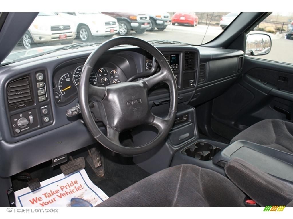 2001 GMC Sierra 1500 SLE Extended Cab 4x4 Dashboard Photos