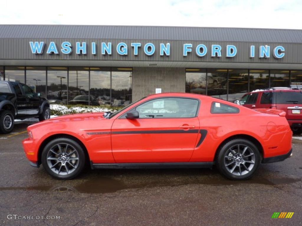 2011 Mustang V6 Mustang Club of America Edition Coupe - Race Red / Charcoal Black photo #1