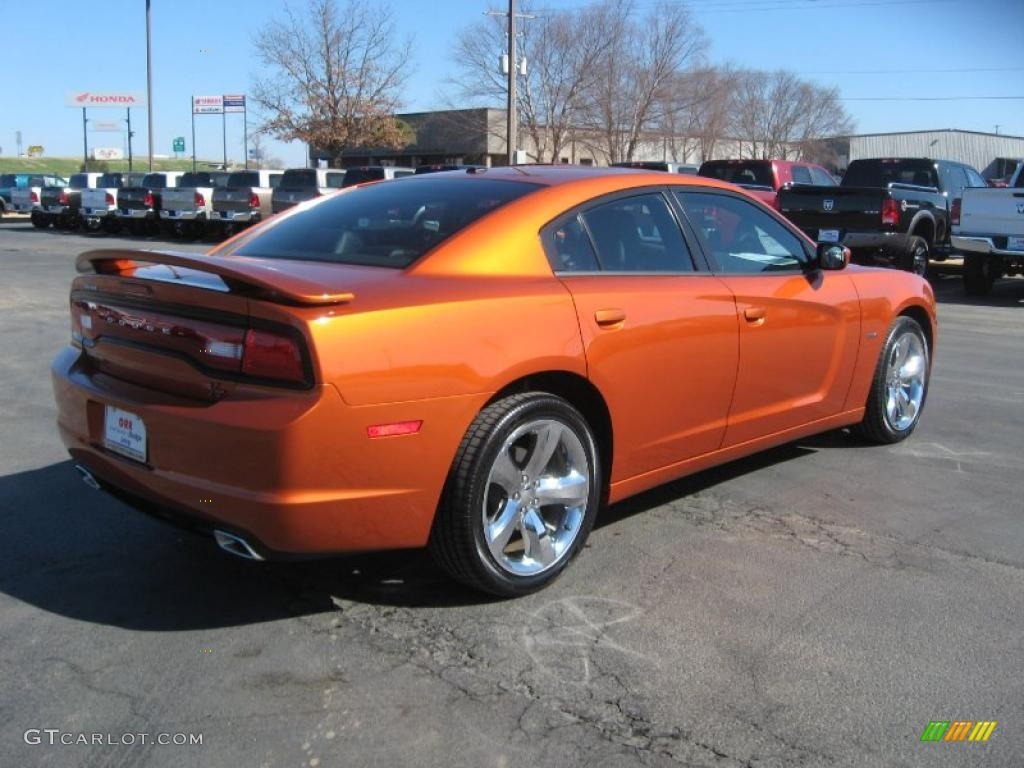 toxic orange pearl 2011 dodge charger r t plus exterior photo 46011028 gtc. Cars Review. Best American Auto & Cars Review