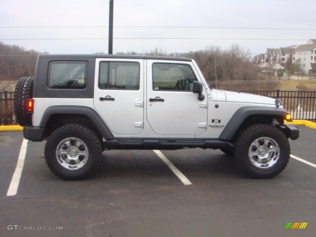 2008 jeep wrangler unlimited x 4x4 bright silver metallic color. Cars Review. Best American Auto & Cars Review