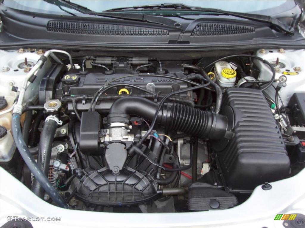 2006 Chrysler Sebring Convertible 2.4 Liter DOHC 16-Valve ...