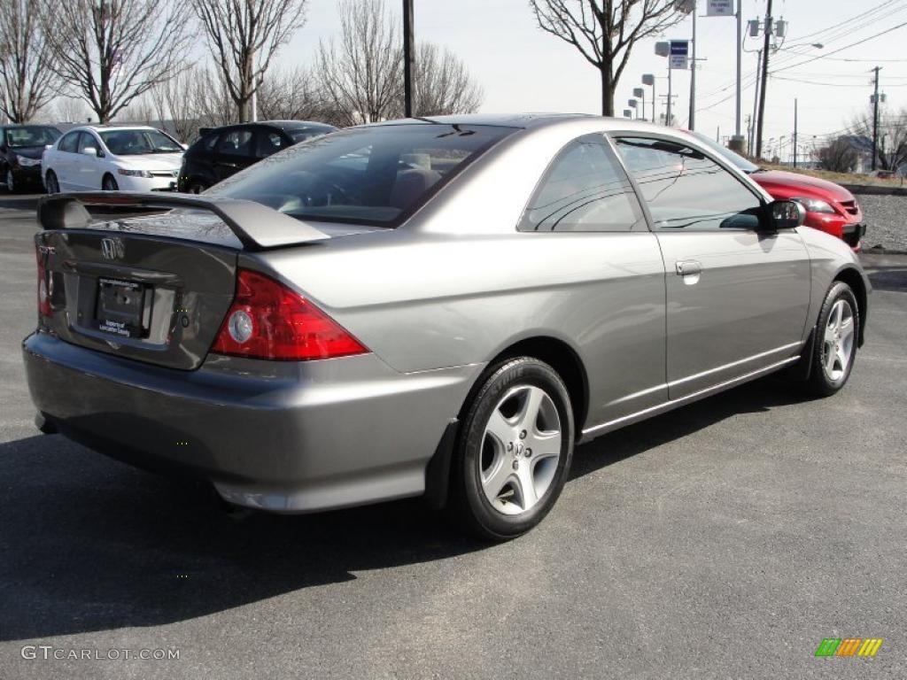 Magnesium Metallic 2004 Honda Civic Ex Coupe Exterior Photo 46019011