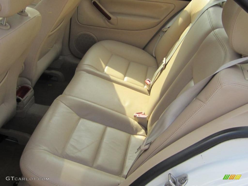 Beige Interior 2001 Volkswagen Jetta Glx Vr6 Sedan Photo 46019131