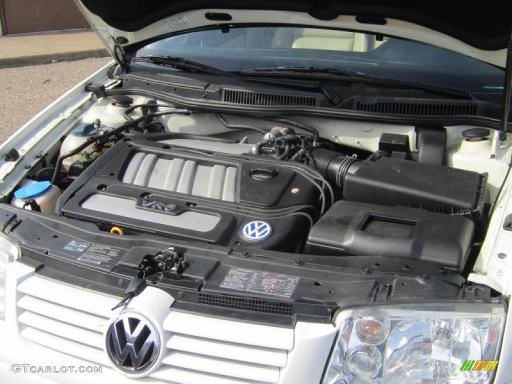 2001 Volkswagen Jetta GLX VR6 Sedan 2.8L DOHC 24V V6 ...