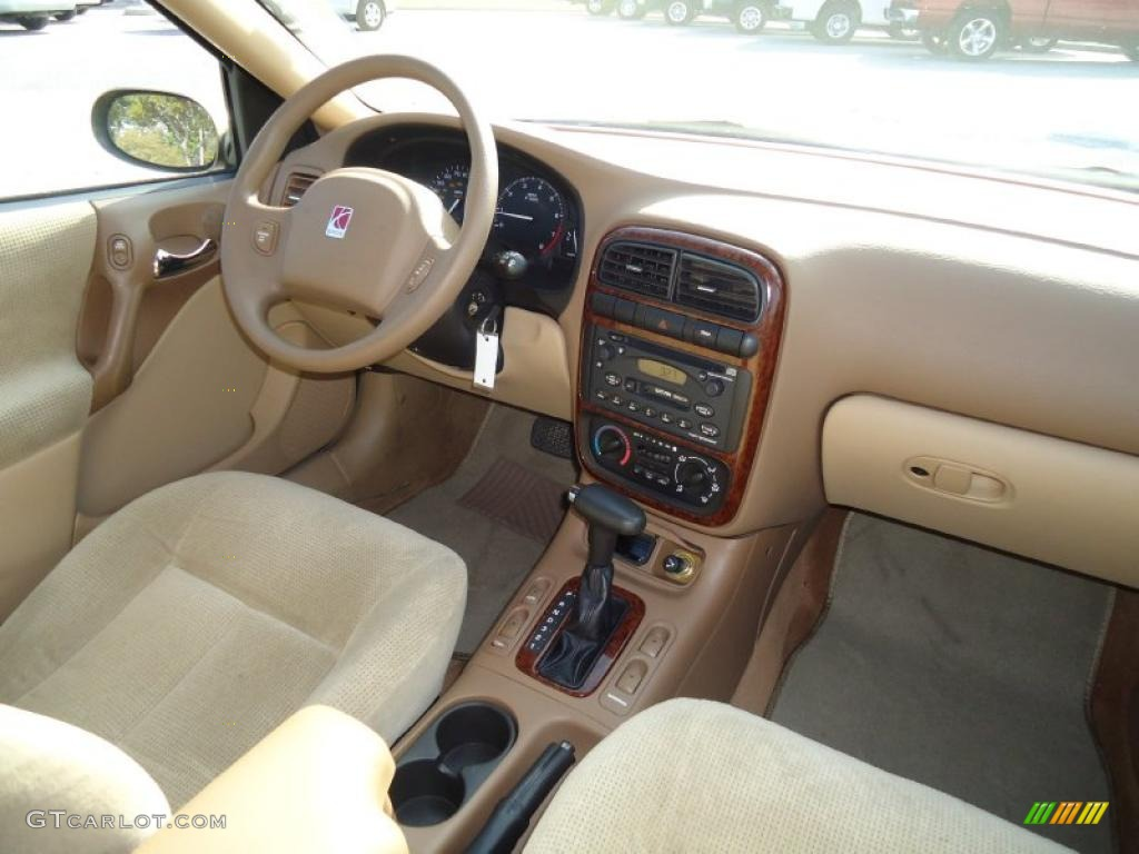 Tan interior 2001 saturn l series l200 sedan photo 46025110