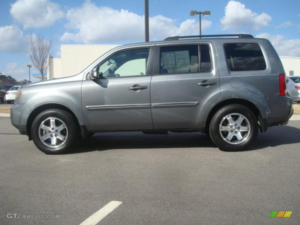 Nimbus Gray Metallic 2009 Honda Pilot Touring Exterior Photo 46046006 Gtcarlot Com