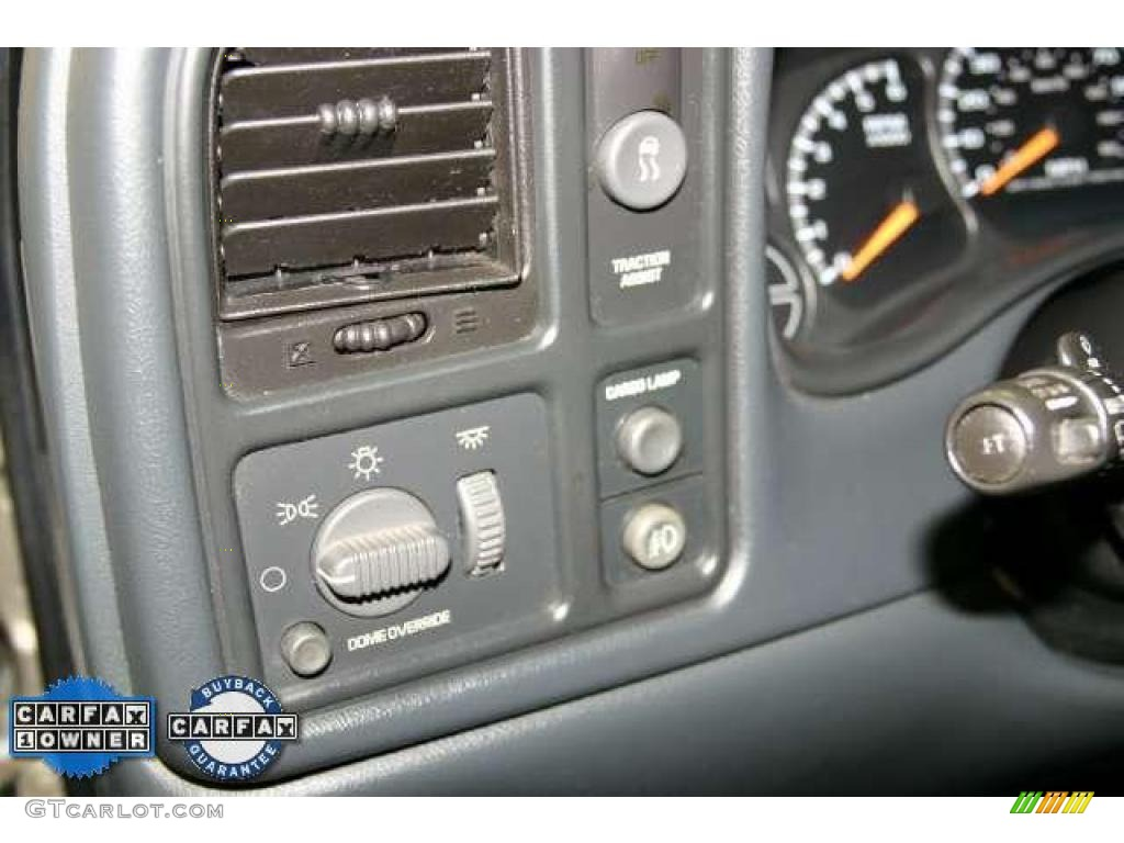 2002 Silverado 1500 LS Extended Cab - Light Pewter Metallic / Graphite Gray photo #16
