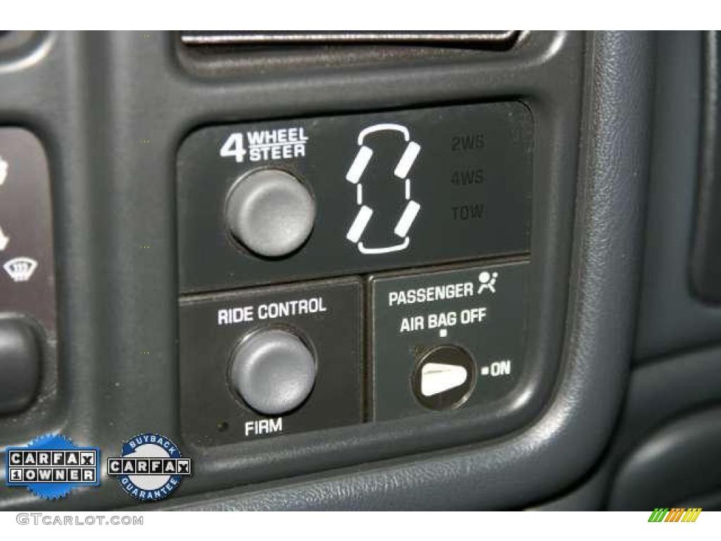 2002 Silverado 1500 LS Extended Cab - Light Pewter Metallic / Graphite Gray photo #17