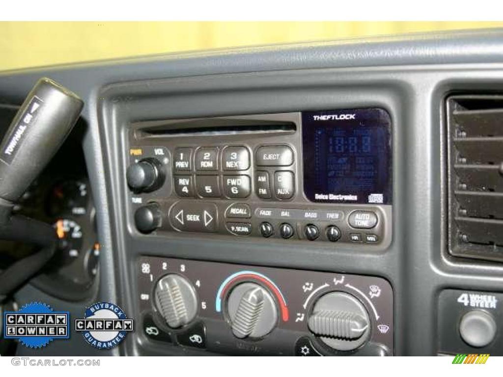 2002 Silverado 1500 LS Extended Cab - Light Pewter Metallic / Graphite Gray photo #18