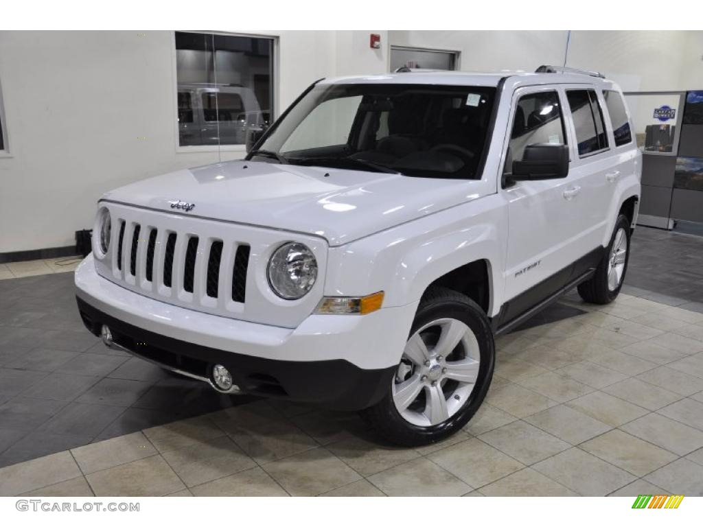 2011 bright white jeep patriot latitude x 46038446 photo. Black Bedroom Furniture Sets. Home Design Ideas