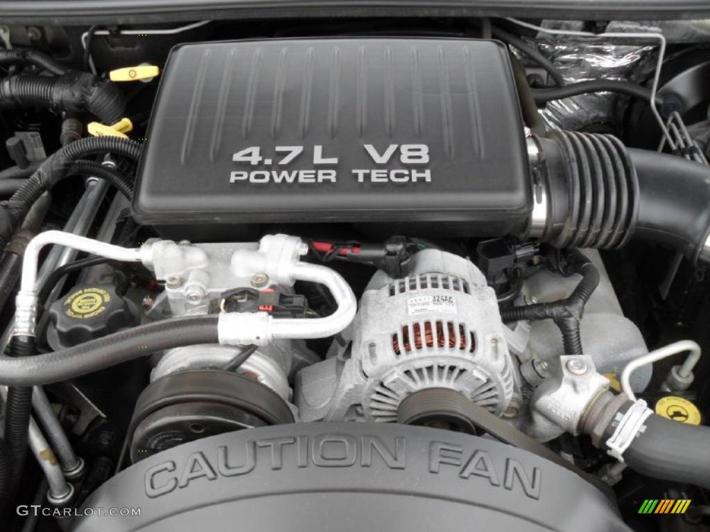 2000 jeep grand cherokee laredo 4x4 4 7 liter sohc 16 valve v8 engine photo 46062186. Black Bedroom Furniture Sets. Home Design Ideas