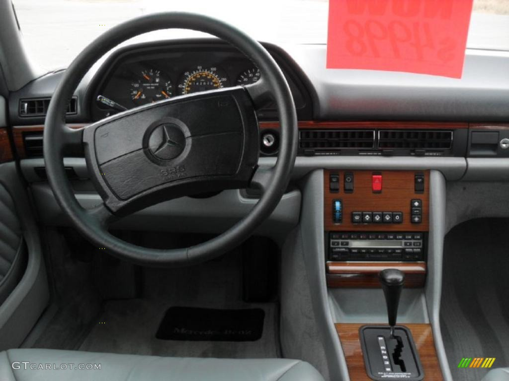 1991 Mercedes Benz S Class 300 Sel Grey Dashboard Photo